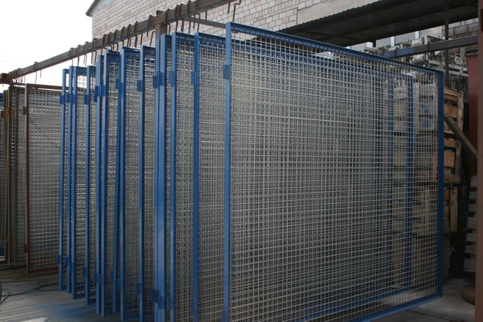 Заборные секции ограждения