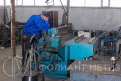 Изготовление рулонов сетки рабицы