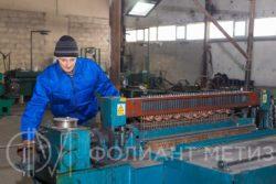 Изготовление строительной армированной сетки